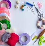 Everything dla handmade zdjęcie stock