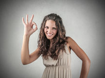 Everything is fine Royalty Free Stock Photo