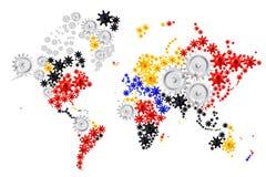 Everything globalnie łączy ilustracji