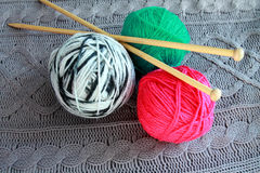 Everything for Knitting Royalty Free Stock Photos