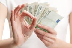Everything ok in financial wonderland Stock Image