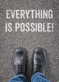 Everything is possible Stock Images
