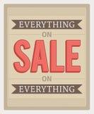 Everything On Sale Stock Photos