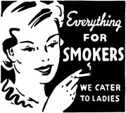 Everything For Smokers Stock Image