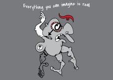 Everything ty możesz wyobrażać sobie Ilustracji