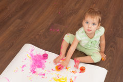 Everything wants to paint Stock Photography