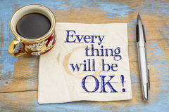 Everything will be OK! Royalty Free Stock Photography
