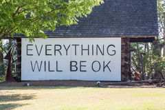 Everything Will Be OK Royalty Free Stock Photos