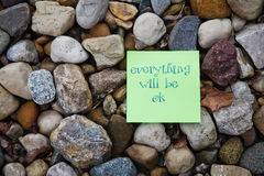 Everything will be OK Stock Photo