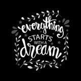 Everything zaczyna z sen ilustracji