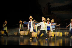 Everywhere Bang Bang Jun- Jiangxi opera a steelyard Royalty Free Stock Photos