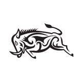 Everzwijn die Stammenart. laden Royalty-vrije Stock Afbeelding
