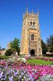 Evesham Abbey Clock Tower. Royalty Free Stock Photo