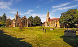 Evesham Churches Stock Photos