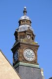 Evesham town hall clock tower. Royalty Free Stock Photos