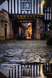 Evesham in Worcestershire fotografia stock libera da diritti