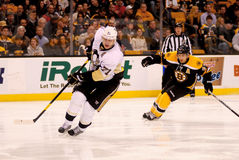 Evgeni Malkin and Patrice Bergeron (NHL Hockey) Royalty Free Stock Photo