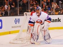 Evgeni Nabokov New York Islanders. New York Islanders goalie Evegeni Nabokov #20 stock photos