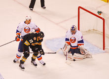Evgeni Nabokov New York Islanders. New York Islanders goalie Evgeni Nabokov #20 royalty free stock images