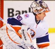 Evgeni Nabokov New York Islanders. New York Islanders goalie Evgeni Nabokov #20 royalty free stock image