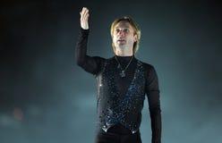 Evgeni Plushenko Kings auf Eis Lizenzfreies Stockfoto