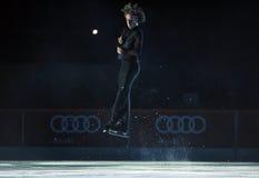 Evgeni Plushenko Kings auf Eis Stockbilder