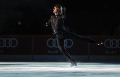 Evgeni Plushenko Kings auf Eis lizenzfreie stockfotografie
