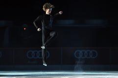 Evgeni Plushenko Kings auf Eis Stockbild