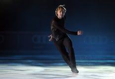Evgeni Plushenko Kings en el hielo Imagenes de archivo