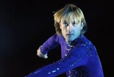 Evgeni Plushenko Kings en el hielo Imagen de archivo libre de regalías