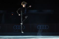 Evgeni Plushenko Kings en el hielo Imagen de archivo
