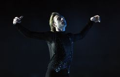 Evgeni Plushenko Kings no gelo Foto de Stock
