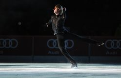 Evgeni Plushenko Kings no gelo Fotografia de Stock Royalty Free