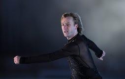 Evgeni Plushenko Kings på is Fotografering för Bildbyråer