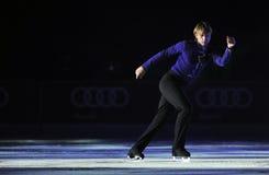 Evgeni Plushenko królewiątka na lodzie Zdjęcia Stock