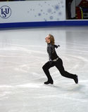 Evgeni Plushenko (Russia). ISU European Figure Skating Championship 2010 in Tallinn, Estonia. Evgeni Plushenko from Russia in Men's short program. Saku Suurhall Royalty Free Stock Image