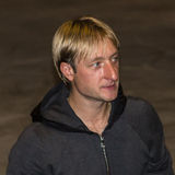 Evgeni Viktorovich Plushenko Royalty Free Stock Photography