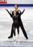 Evgenia TARASOVA, Vladimir MOROZOV/(RUS) Zdjęcie Royalty Free