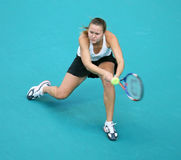 Evgeniya RODINA (RUS) at Open GDF Suez 2010 Stock Photography