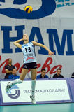 Evgeniya Startseva (13) on pitch Stock Images