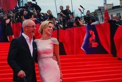 Evgeny Gerasimov at Moscow Film Festival Royalty Free Stock Photo