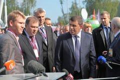 Evgeny Kuyvashev and Alexander Petrov Stock Images