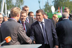 Evgeny Kuyvashev and Alexander Petrov Stock Photography