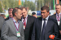 Evgeny Kuyvashev and Vadim Badekha Stock Photos