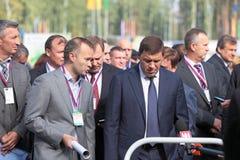 Evgeny Kuyvashev and Vadim Badekha Stock Images
