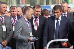 Evgeny Kuyvashev and Vadim Badekha Royalty Free Stock Images