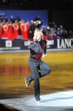 Evgeny Plushenko in Milan at 2010 Ice Gala Stock Photography