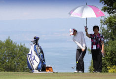 Evian Masters 2010 Royalty Free Stock Images