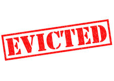 EVICTED Stock Photography