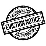 Eviction Notice rubber stamp Stock Photography